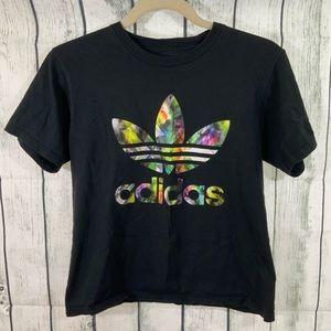 Adidas Crop Tee Shirt